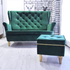 sofa dwu osobowa uszak