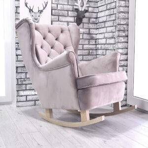fotel uszak na płozach