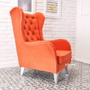 fotel slim pomarańcz