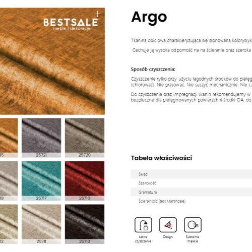 Nowa kolekcja tkaniny ARGO