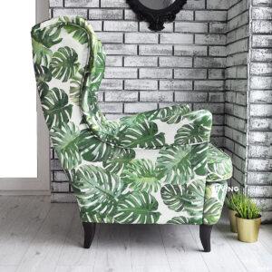 fotel w liście
