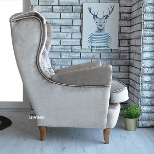 fotel uszak latte elegante 3