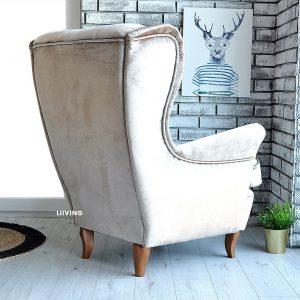 fotel uszak latte elegante 4