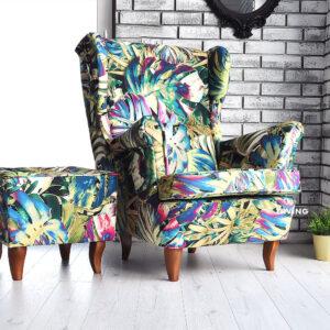 fotel w papugi