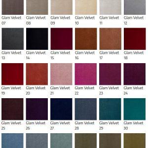 kolekcja tkaniny glam velvet fargotex
