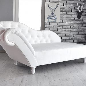 szezlong biały